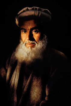 'Man with cloudy beard', Pictures Of Afghanistan By Photojournalist Steve McCurry