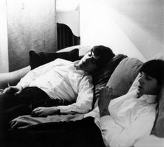 """Whoever slept with George woke up with him wrapped around them."" -Paul McCartney"