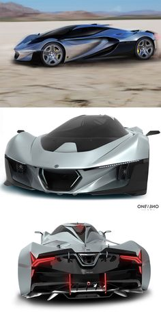 The 'Seligia hypercar concept' is a low-slung speedster which features an ultra-light construction with an aerodynamic body using advanced composite materials, low-drag design, and an advanced hybrid drive... READ MORE at Yanko Design !