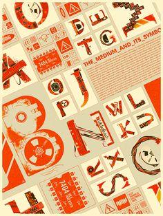 タイポグラフィを用いた、素晴らしいデザインインスピレーションを与えてくれるアートな34作品