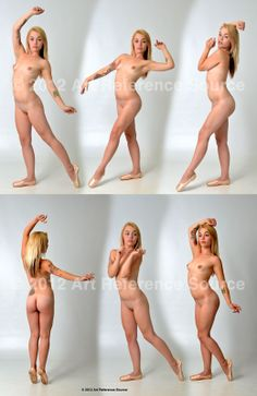 Nude Modern Dance Poses Commercial Use OK by ArtReferenceSource