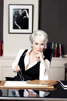 Meryl Streep in Devil Wears Prada ... ultimate Boss Lady♥ ℒℴvℯly