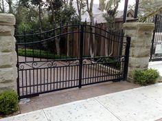 Too decorative? Or ok? Swinging Gates - Exterior - Sydney - Sydney Automatic Gates