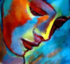"Saatchi Art Artist: Helena Wierzbicki; Acrylic 2012 Painting """"Near to the heart"""""