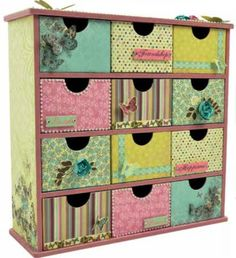 12 Drawer Storage box