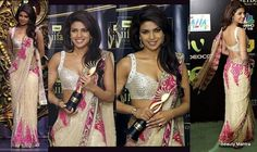 Priyanka's saree on an award function
