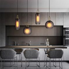 Luxury Loft Frosted Pendant Light – S&W Home