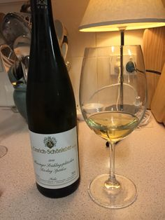 Spatlese Riesling from the Nahe