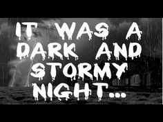Eight hour long version of our ' It was a Dark and Stormy Night. ' to help you sleep all night long. This haunting and scary nature sound video adds some s.