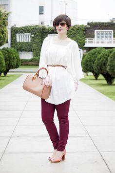 Divina Ejecutiva: Mis Looks - ¿Cómo uso un blusón?