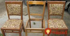 Šikovná žena prišla so skvelým nápadom, ako využiť 3 zabudnuté staré stoličky. A to ani zďaleka nie ej všetko!