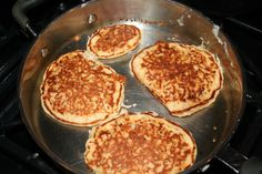 I've been exploring leftover oatmeal recipes. Leftover oatmeal muffins were not a big hit, so last week I tried pancakes. I wanted a recipe that was more like oatmeal than pancakes, so I sear… The Oatmeal, Oatmeal Porridge, Oatmeal Bread, Oatmeal Pancakes, Waffles, Second Breakfast, Breakfast Time, Breakfast Recipes, Breakfast Ideas