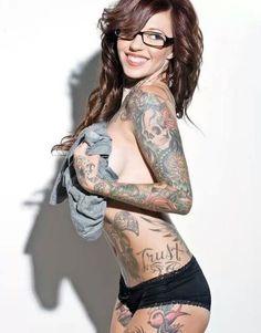 Ink.  #sexy #beautiful  http://www.theeroticwoman.com