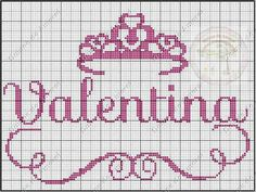 Gráficos com nomes prontos para quem ama ponto cruz. Beading Patterns, Embroidery Patterns, Knitting Patterns, Crochet Patterns, Cross Stitch Baby, Cross Stitch Embroidery, Cross Stitch Patterns, Diy Stuffed Animals, Hama Beads