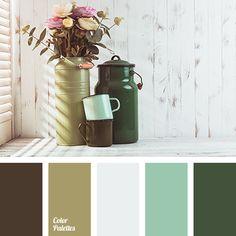 brown color, color of mud, color palette, color solution for home, dark green color, emerald color, green color, green shades, Grey Color Palettes, olive color, shades of green-brown.