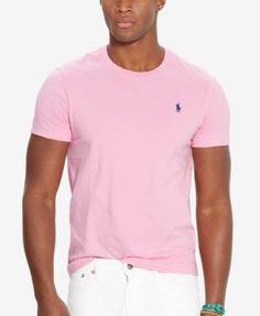 Polo Ralph Lauren Men's Custom-Fit Crew Neck T-Shirt