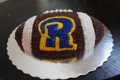 Rams Football Cake For Ryan