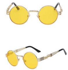 fb794d8e72436 The Stir Fry s (10 Colors) - Round Spiral Metal Frame Sunglasses