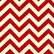 My next red bride will have some clutches made with this lovely red chevron fabric by holli zollinger