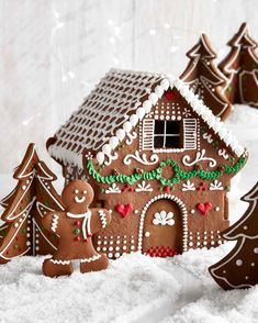 Home & Garden Humorous 10 Pieces 3d Gingerbread House Cookie Cutter Set For Kids Christmas Cakes Rapid Heat Dissipation