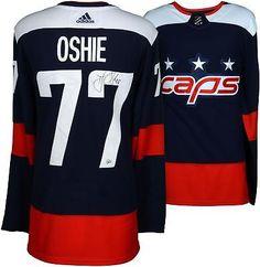 c7ef09d6f TJ Oshie Washington Capitals Signed 2018 Stadium Series Adidas Authentic  Jersey #NHL #Hockey Stadium