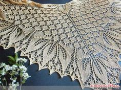 Black Lily - knit happy - happy knitting blog