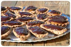 La cucina di Federica: Tartellette al dulce de leche e cioccolato