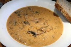 Arany gombakrémleves (Goldn Mushroom Soup)
