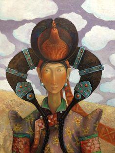 Zayasaikhan Sambuu, Mongolian painter.
