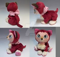 Modeled after Dinah the kitty, from Disney's Alice in Wonderland. Plush is made from minky and faux fur, with a fleece bow, velour eyes, and some embroi. Disney Animator Doll, Disney Plush, Disney Movies, Plushies, Pet Toys, Cute Kids, Alice In Wonderland, Coloring Pages, Disney Classics