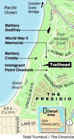 Presidio's coastal bluffs: offbeat hike