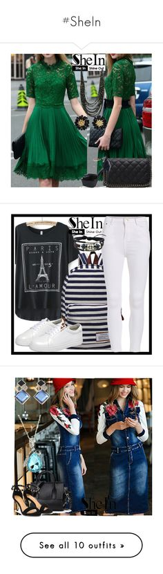 """""""#SheIn"""" by fatimka-becirovic ❤ liked on Polyvore featuring WithChic"""