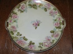 Vintage 1920's Rose Porcelain Silesia Ohme by TheIDconnection, $85.00