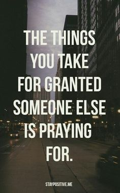 Seriously! Nothing hurts worse than having something taken from you when it's all you wanted & then seeing people get the same blessing & watching them take it for granted!!