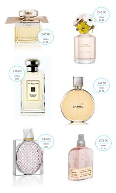 perfumes for women | We've selected the best perfumes for women from Give as you Live ...
