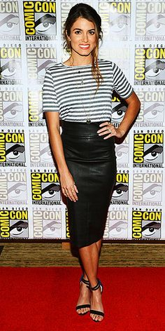 Nikki Reed : I so love this outfit.