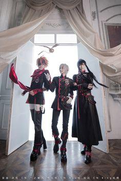 ichinosehikaru(一之濑光/一ノ瀬ヒカル) Allen Walker, Ayuhang(Ayu绗) Yu Kanda Cosplay Photo - Cure WorldCosplay
