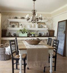 the storage in this dining room is great, and is totally diy'able.  Love it.