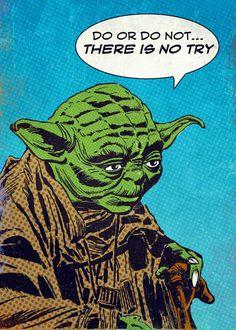 Star Wars Pop Art, Star Wars Prints, Pop Art Posters, Poster Prints, Classical Art Memes, Star Wars Quotes, Star Wars Comics, Star Wars Poster, Classic Comics