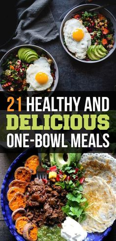21 Healthy And Delicious One-Bowl Meals @buzzfeed