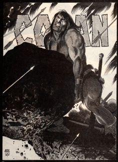 Conan by Alex Toth.    Michael Sporn Animation - Splog