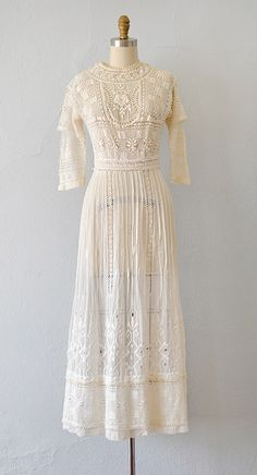 Sweetest Primrose Dress by Adored Vintage #edwardian #antiquedress #lawndress…