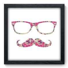 Quadro Decorativo - Mustache - 061qdv