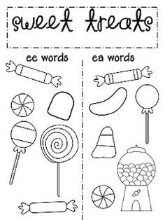 Oa ow story, wall sign, puzzle sort, word and picture sort | Pinterest
