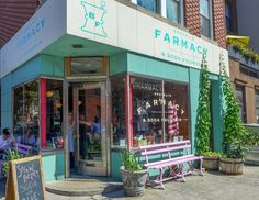 Brooklyn Farmacy & Soda Fountain (photo by Nicolette Mason) Lofts, Nicolette Mason, Shop Facade, Carroll Gardens, Interior Fit Out, Pharmacy Design, Brooklyn New York, Soda Fountain, Cafe Shop