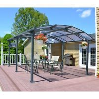 Details About Free Shipping Good Beautiful Aluminum Carport Outdoor Canopy Car Shelter Awning Carport Patio Patio Shade Outdoor Patio Shades
