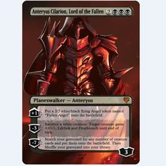"Magic the Gathering ""Planeswalker - Anteryus"""