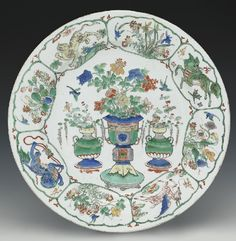 A 'Famille-Verte' dish, Kangxi… - Fine Furniture and Decorative Arts - Sotheby's Australia - Antiques Reporter