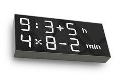 Albert Clock - digital mathematic clock