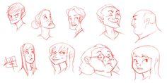 quick sketches 9 13 09 by *LuigiL on deviantART